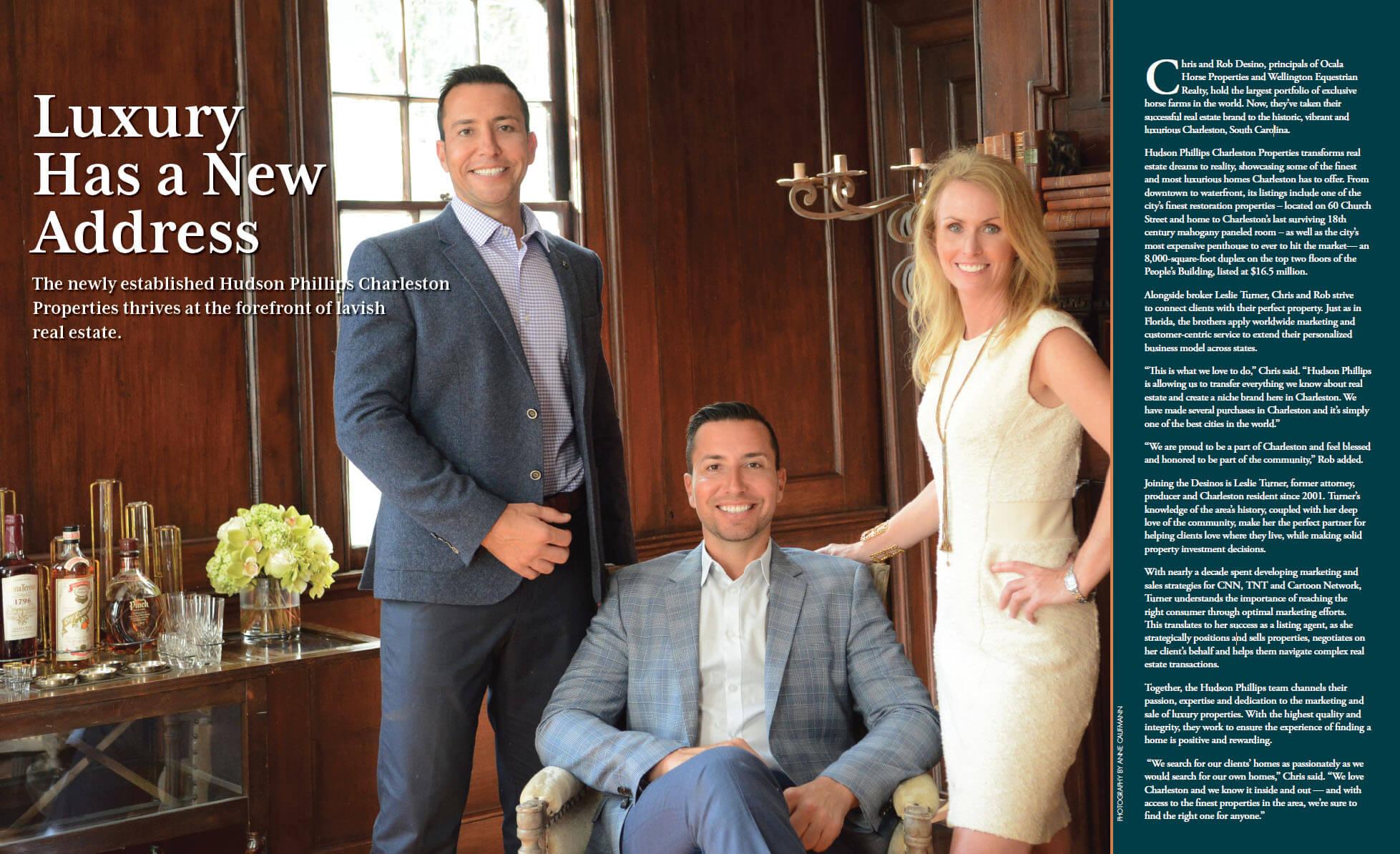 Luxury Has A New Address - Hudson Phillips Properties